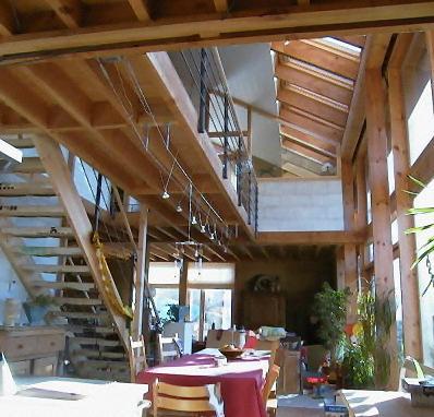 maison ossature bois avec isolation en paille cabinet darchitecture barchi - Maison Paille Ossature Bois
